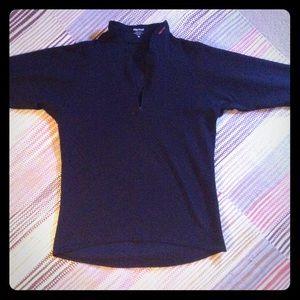 Marmot Sz M black top long sleeves